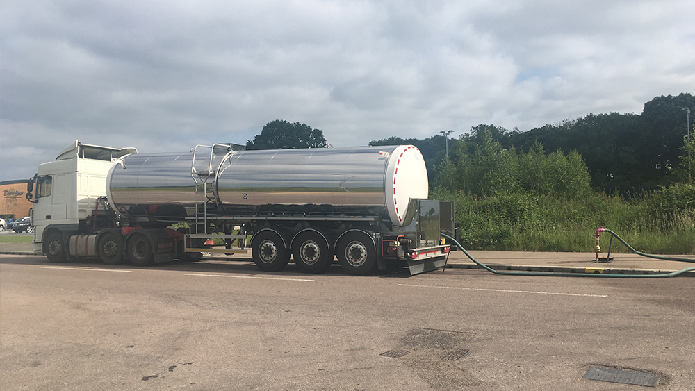 Water Tanker Delivery